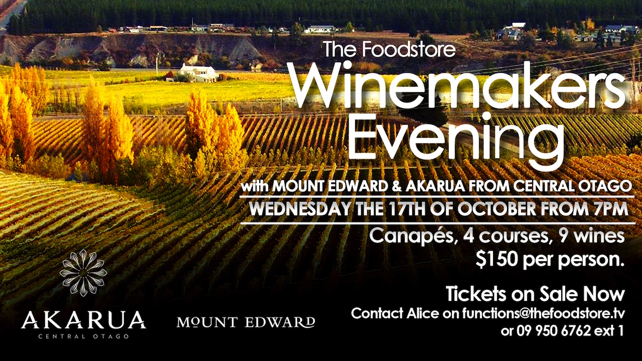It's a Central Otago Fest at the Foodstore October 17th! Click image to view…