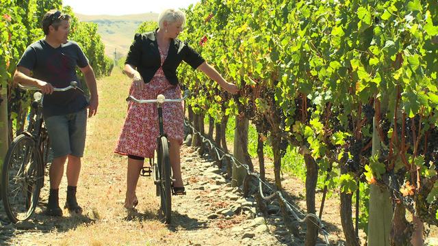 Wine & Wheels at Paritua Vineyards in Series 3