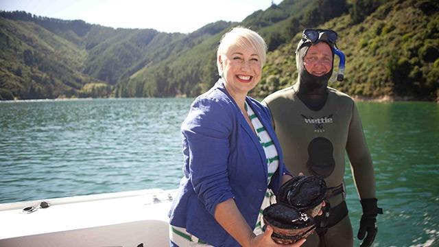 Deep sea deliciousness at Wairau River