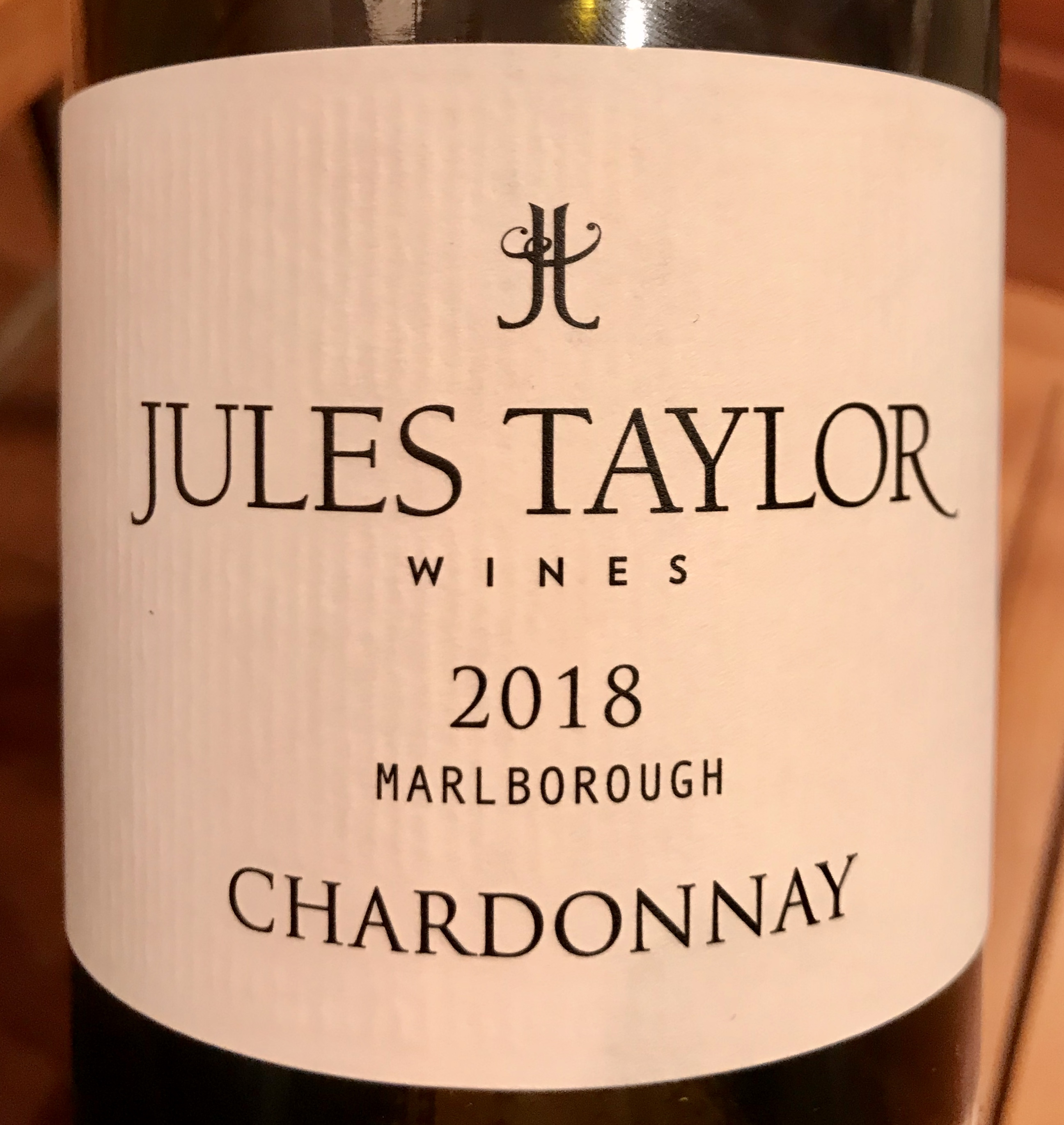 Jules Taylor Marlborough Chardonnay 2018